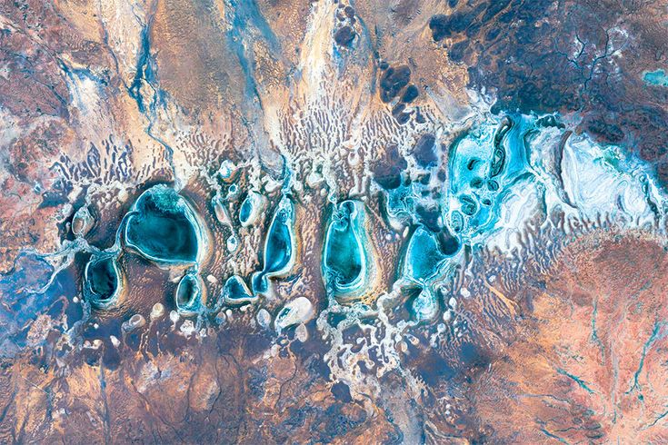Earth View: A Curated Collection of the Most Stunning Satellite Images Found on Google Earth