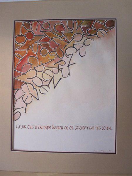 Kalligrafie/compositie