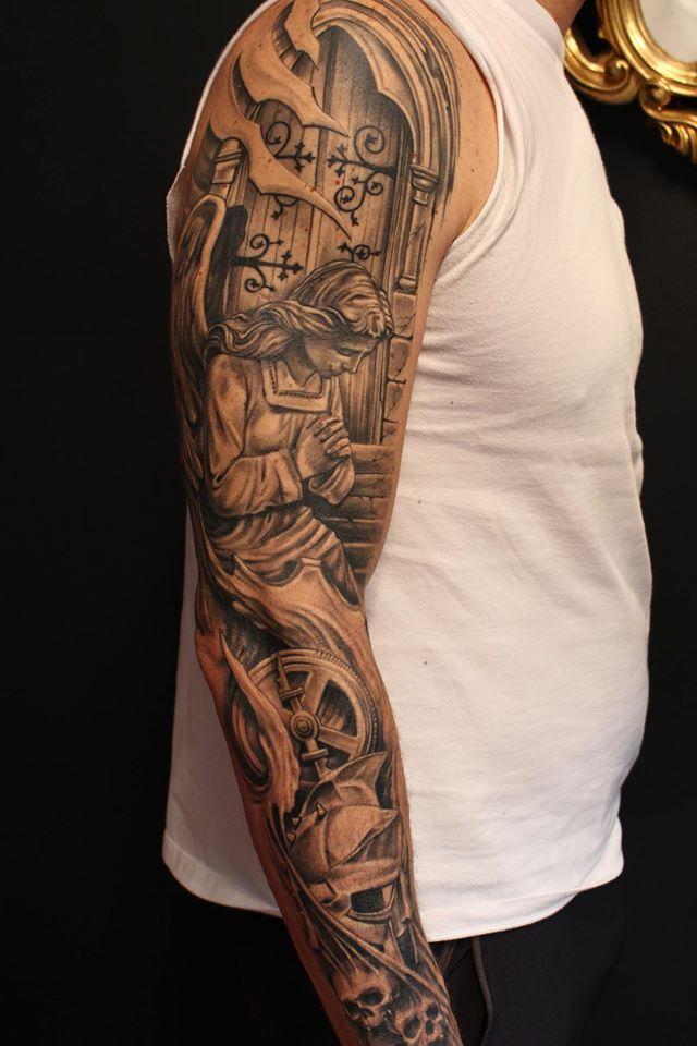25 melhores ideias de tatuagem de gladiador no pinterest guerreiro espartano tatuagem. Black Bedroom Furniture Sets. Home Design Ideas