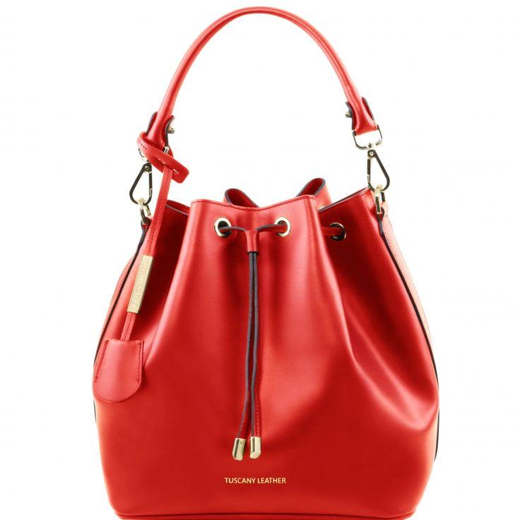 Diese italienische ruga leder Handtasche hat 1 Kompartiment Innenreissverschlussfach 2 Multifunktionsfächer Hardware Goldfarbig - € 135,99
