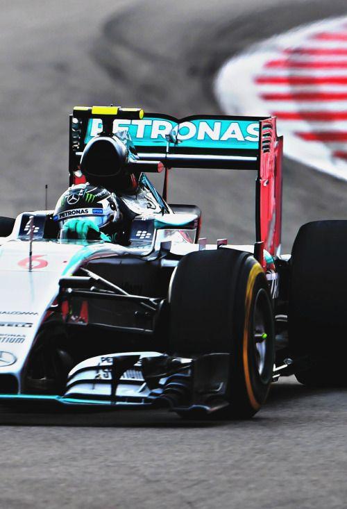 Nico Rosberg l Russia 2015