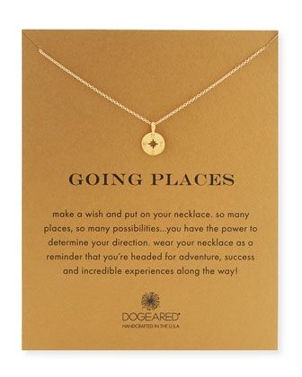 Going+Places+14K+Gold+Compass+Pendant+Necklace+by+Dogeared+at+Neiman+Marcus.
