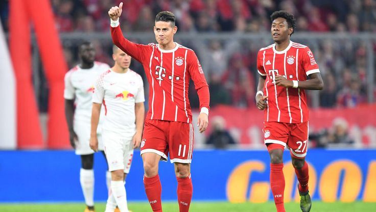 Bayern Munich 2-0 RB Leipzig: James & Lewandowski Clinical as Bayern Outmuscle 10-Man Leipzig