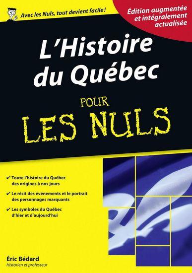 Un approche de l'histoire du Québec par un historien, alliant simplicité et plaisir de la lecture.
