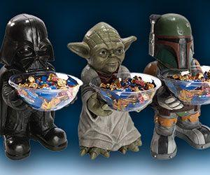 Star Wars Candy Holders http://www.thisiswhyimbroke.com/star-wars-candy-holders