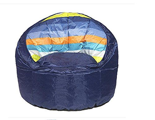 Heritage Kids Blue Stripped Toddler Bean Bag Chair Blue -- Find out more about the great product at the image link. Note:It is Affiliate Link to Amazon.