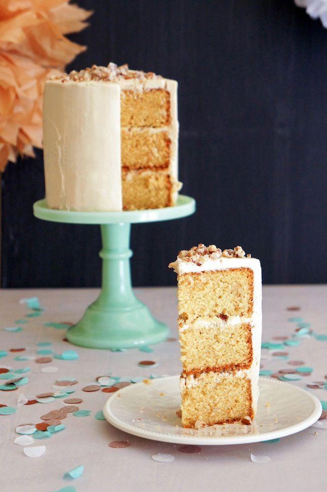 TOFFEE DREAM CAKE WITH HAZELNUT PRALINE