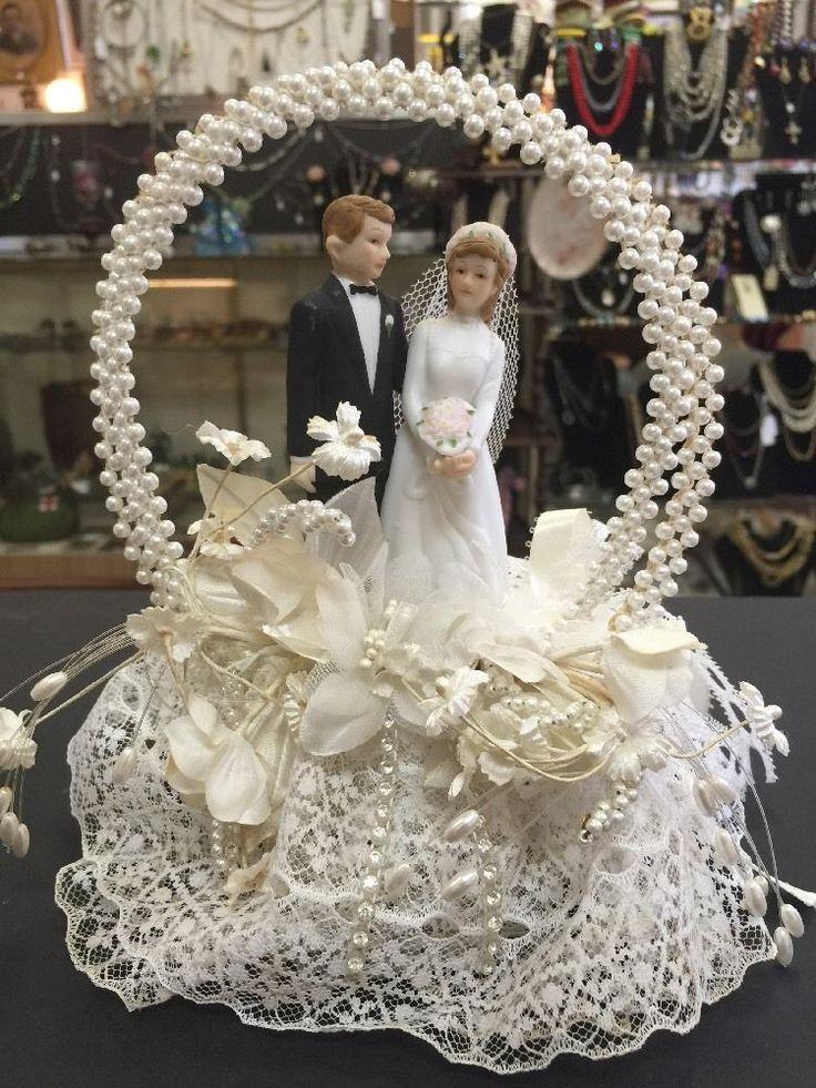 544 best vintage wedding cake toppers images on pinterest retro weddings vintage wedding. Black Bedroom Furniture Sets. Home Design Ideas