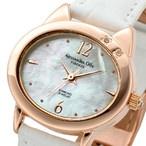 レディース腕時計/アレサンドラオーラ 人気 ピンクゴールド 猫の手チャーム AO-2220P 選べる5色/腕時計/女性用腕時計 ぬちぐすい - ネットで通販 Yahoo!ショッピング