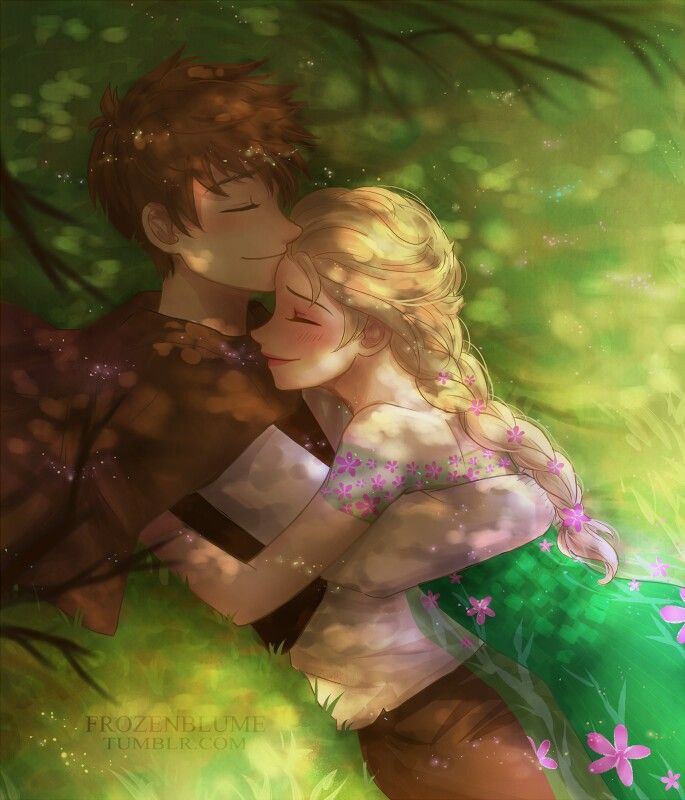 OMF GOSH THIS IS SO ADORABLE. FROZENBLUME IS THE BEST