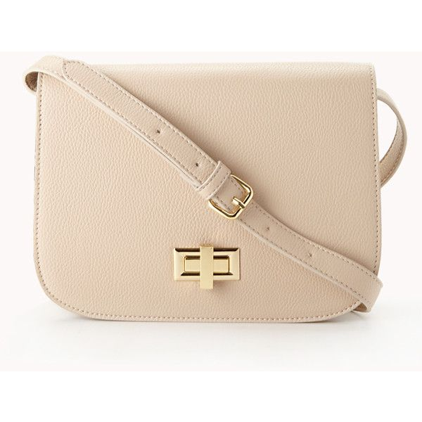 FOREVER 21+ PLUS SIZES Classic Structured Crossbody ($20) ❤ liked on Polyvore featuring bags, handbags, shoulder bags, purses, bolsas, bolsos, accessories, cream, purse crossbody and man bag