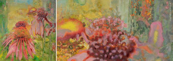 #Echinacea #AdamPoltorak #painting
