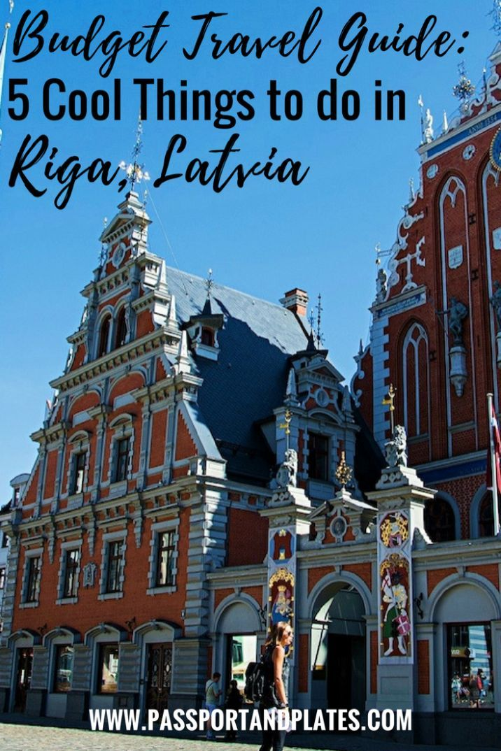 If you're headed to Latvia, don't miss these top 5 things to do in Riga! Click to read | https://passportandplates.com?utm_content=buffer816c4&utm_medium=social&utm_source=pinterest.com&utm_campaign=buffer
