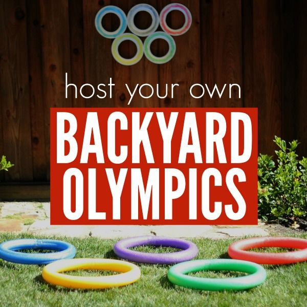 easy Olympics ideas for kids