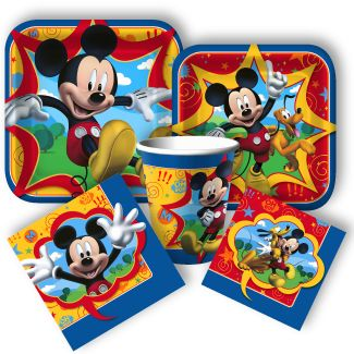 Mickey Mouse Party Supplies! All kinds of Mickey Mouse decorations favors and even  sc 1 st  Pinterest & 22 best Mickey Mouse Party Ideas images on Pinterest | Mickey mouse ...