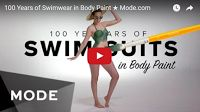 MFS-Viral Vids: 100 Years of Swimwear in Body Paint ★ Mode.com