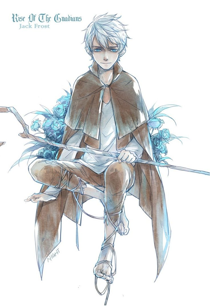 Rise of the Guardians - Jack Frost (by night-light)