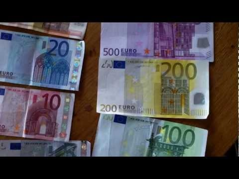 Euro money explained ; part 2 = Bank notes