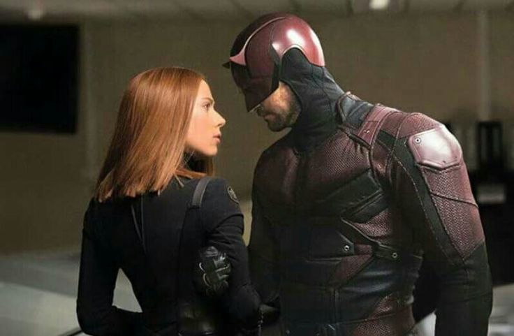 Black Widow and Daredevil... if only if only