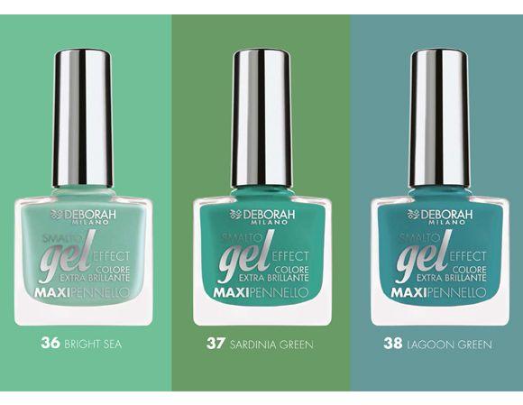 Deborah Milano Gel Effect: nuovi colori per il 2015 http://bit.ly/1vRGjIo #newcollection #nails #nail #nailpolish