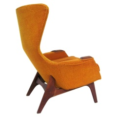 Adrian Pearsall Wingback Easy Chair By Craft Associates