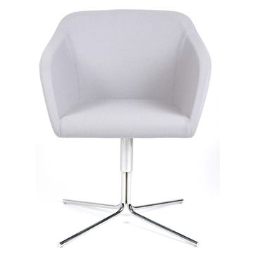 Tulli reception waiting room chair.  Tulli visitor seating, meeting room chair or office reception chair features a mix of curved and straight lines.  A careful design with a proportioned combination of curves, straight lines, fluted and tapered profiles to develop an item of furniture that will inspire and lift the corporate culture of the area it features in. Designed and manufactured in Italy Tulli features a fully welded internal steel frame with a soft pre-molded foam cushion shell.