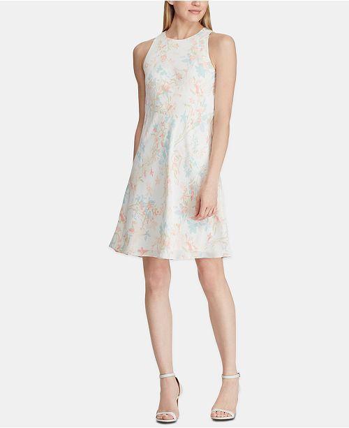 cf0c6d70bef Lauren Ralph Lauren Petite Floral-Print A-Line Dress - Dresses - Petites -