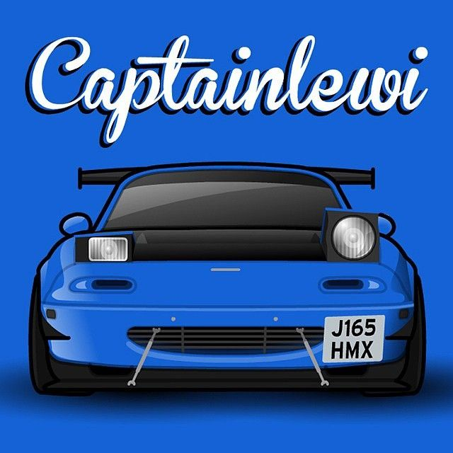 "topmiata: ""@captainlewi by @mmmmiata #mx5painting #automotiveart  TopMiata.com | #TopMiata #mazda #miata #mx5 #eunos #roadster"""