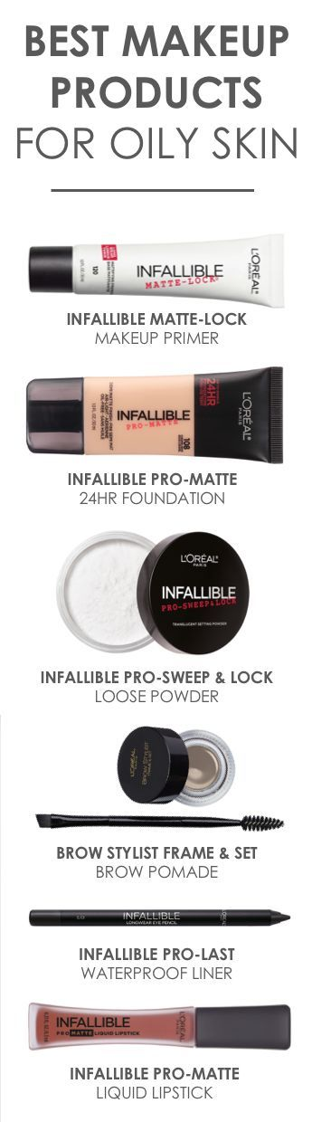 The best L'Oreal makeup products to use for oily skin, including matte prime… – Tonya Sayyae
