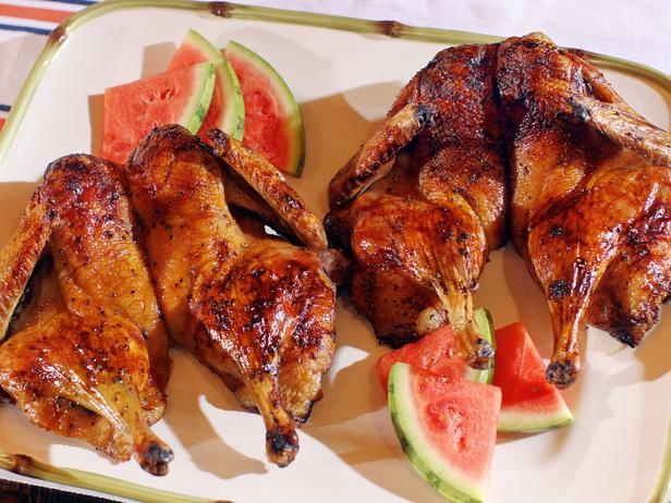 Butterflied Grilled Duck with Spicy Watermelon Glaze #Recipe # ...