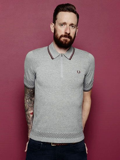 The Bradley Wiggins Collection spring / summer 2015 by Fred Perry