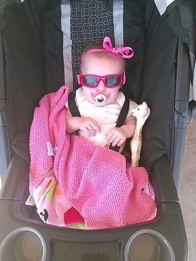 Baby stroller ride