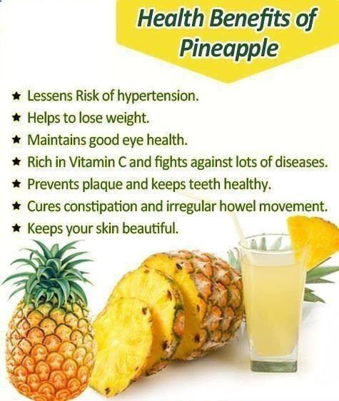 Realize the 7 Amazing Health Benefits of Pineapple - The Valuable Added Fruit for its Sweet Taste
