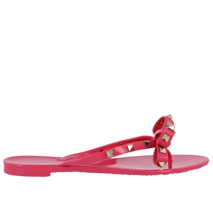 VALENTINO FLAT SANDALS SHOES WOMEN VALENTINO GARAVANI. #valentino #shoes #