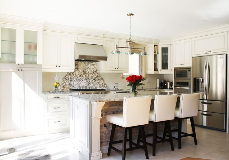 Lovely kitchen designed by your's truly. Hot & Cold