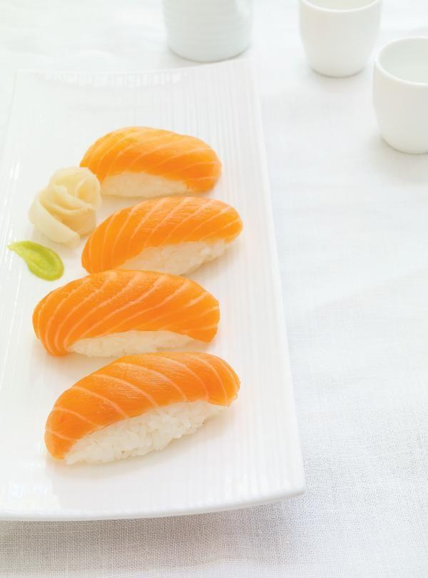 Recette de nigiri au saumon de Ricardo