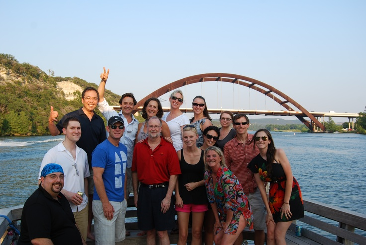 The team at HASPLakes Austin, Social Gathering, Homeaway Software