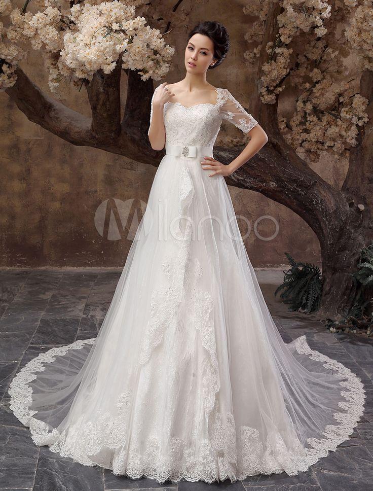 59 best Vestidos claros de noche images on Pinterest | Bridal gowns ...