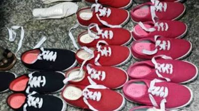 """Nigerian officials seize cocaine factory-packed inside shoes at Abuja airport   Authorities Nigerian anti-drug officers Yesterday says """"It found 9.15 kg (20 pounds) of cocaine worth $4.7 million """"factory-packed"""" inside a new pair of shoes that arrived at Abuja airport on a flight from Brazil. It was however Nigerias biggest drug seizure of 2016. West African nations are often used as transit points by gangs moving drugs between South America and Europe. Nigerias NDLEA drug enforcement agency…"""
