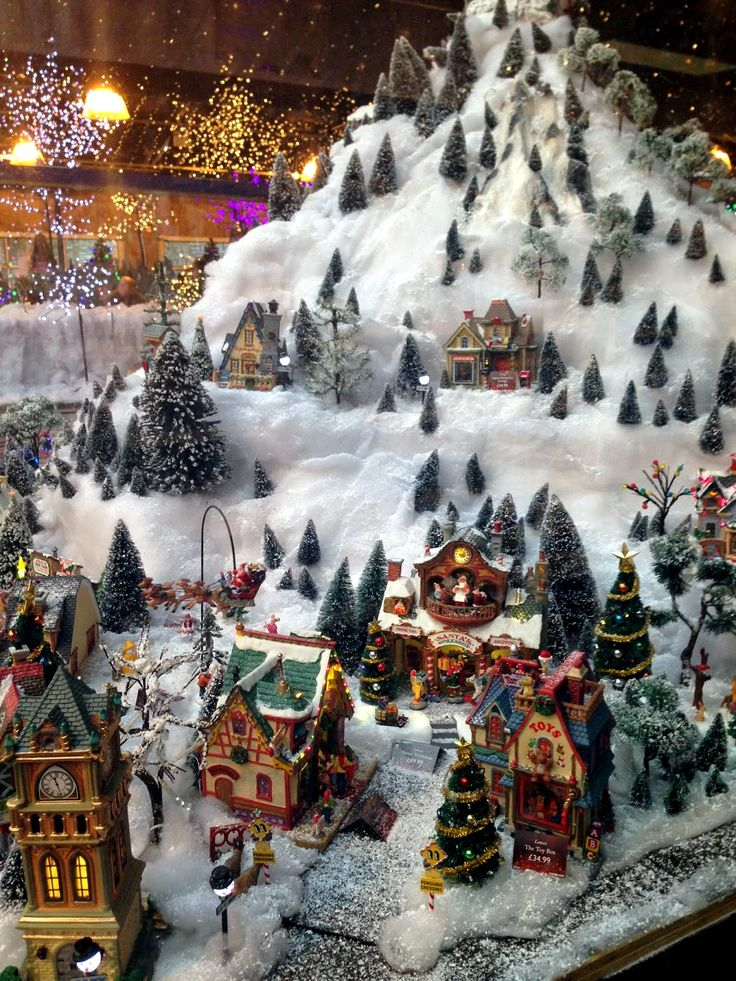 49 best my miniature christmas village images on pinterest christmas villages christmas decor. Black Bedroom Furniture Sets. Home Design Ideas