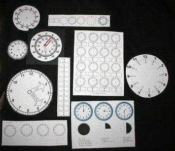 30 FREE clock templates.  Includes analog & digital assessments too.