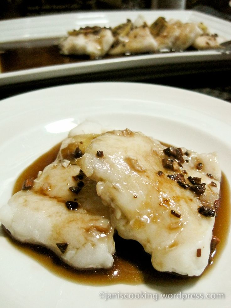 how to cook steamed cream dory