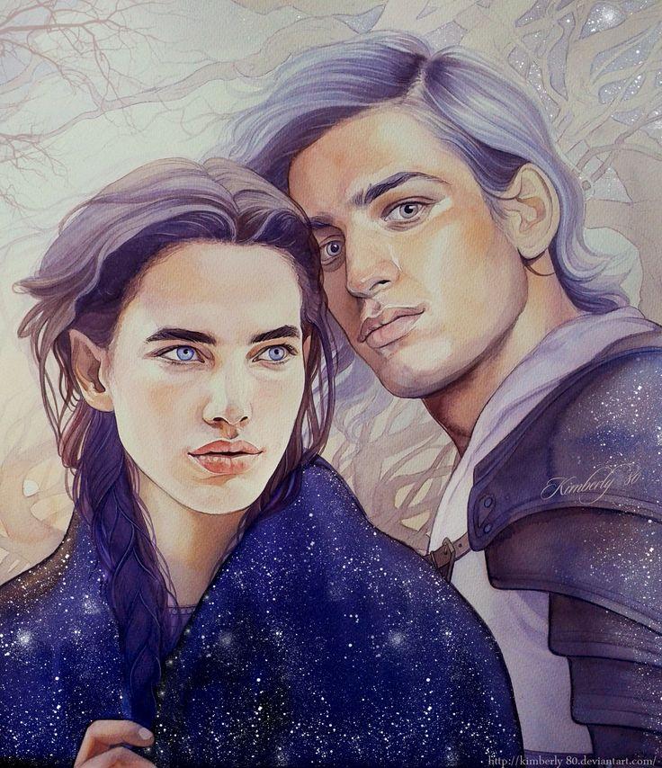 Beren and Luthien by kimberly80.deviantart.com on @deviantART - I love this artist's interpretation of their appearances.  Stunning.