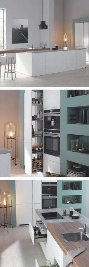 Küche Farbe, Küche, Idee, bunt, farbig, türkis, Minze, mintgrün - nobilia küchen katalog
