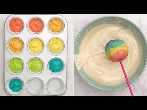 Regenbogenkuchen knallt – YouTube   – Pops