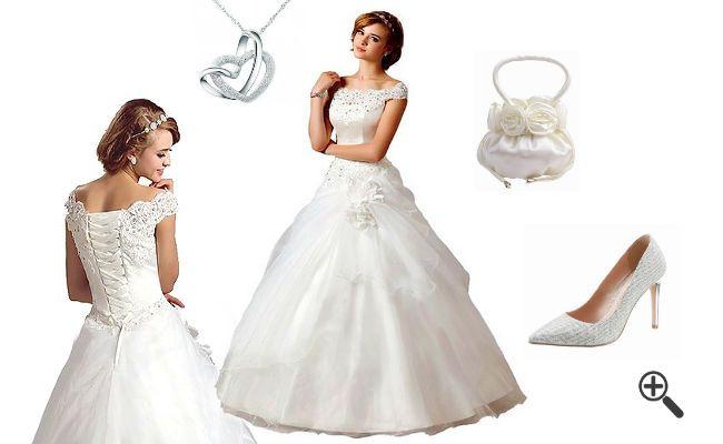 Wie pompöse Brautkleider mit diesen http://www.fancybeast.de/pompoese-brautkleider-hochzeitsoutfit/ #Brautkleider #Hochzeitskleider #Hochzeit #Hochzeitsoutfit #Outfit #Dress #Braut Hochzeitsoutfit Pompöse Brautkleider
