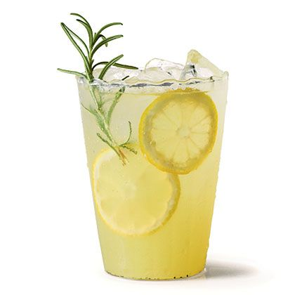 Vanilla-Rosemary Lemonade Recipe | MyRecipes.com