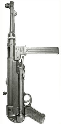 MP 40Loading that magazine is a pain! Get your Magazine speedloader today! http://www.amazon.com/shops/raeind