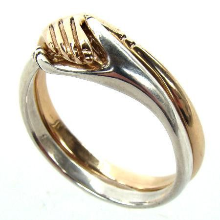 Cara Traditional Irish Friendship Ring (All Gold) - Barry Doyle Design Jewellers