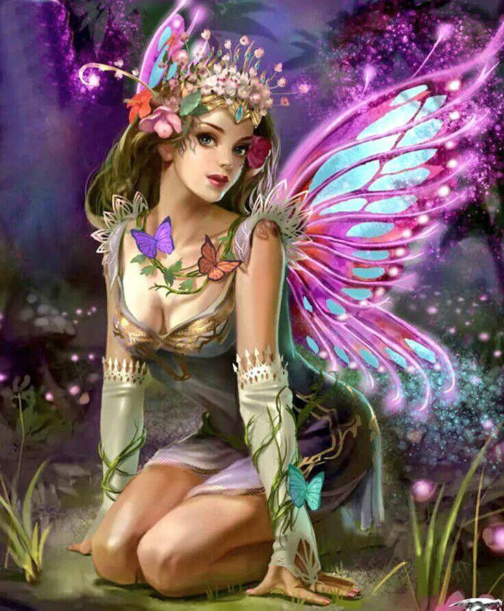 адлера подробными красивые картинки сказочных фей после